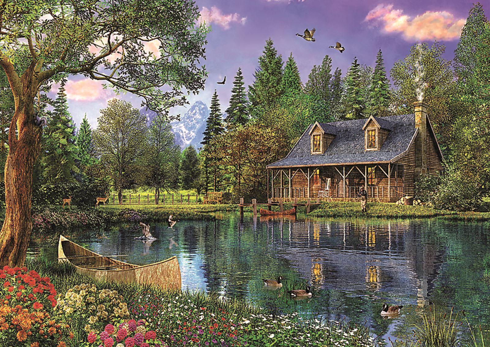 Trefl-300-500-1000-1500-2000-3000-4000-6000-Piece-Jigsaw-Puzzle-Paysages-Ville miniature 12