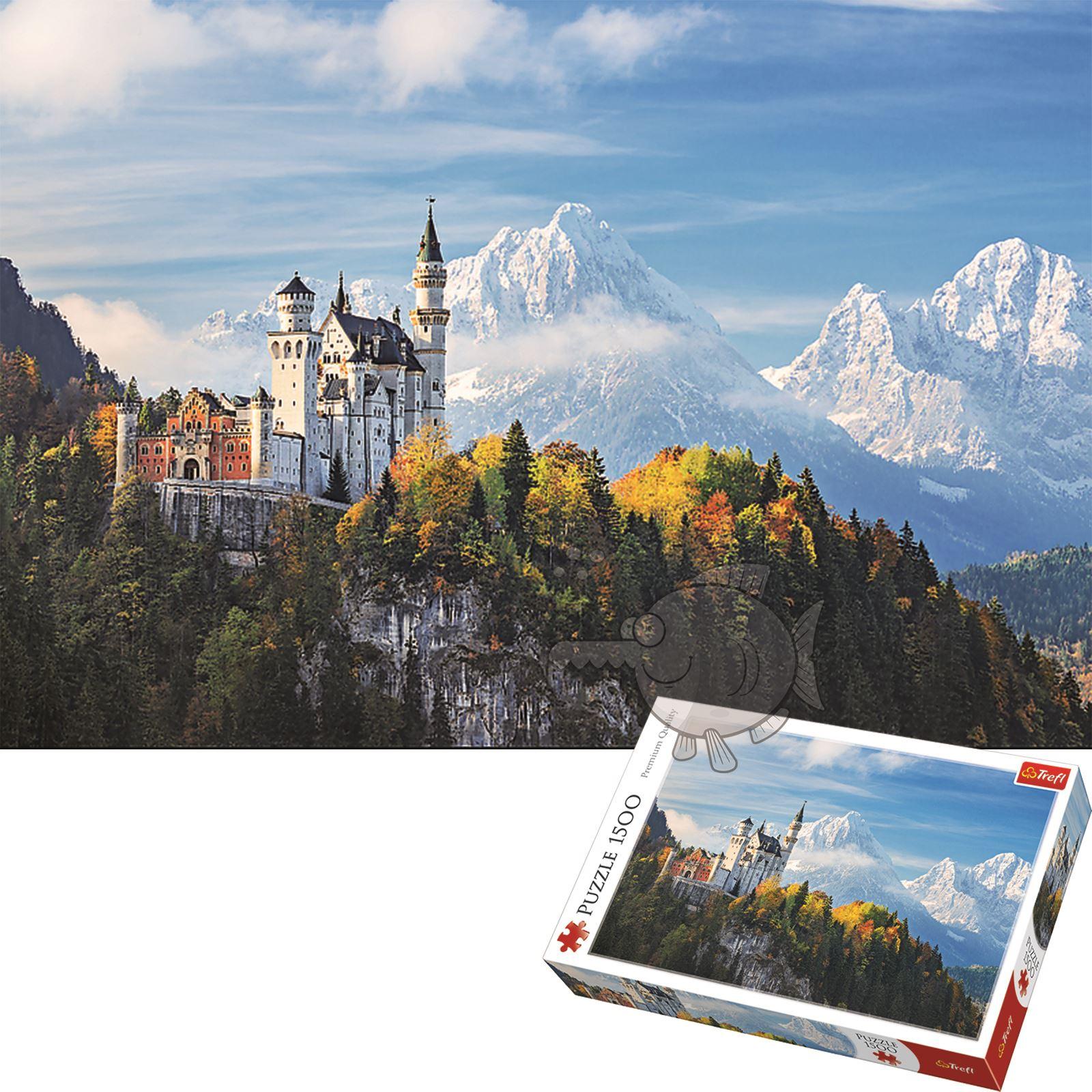 Trefl-300-500-1000-1500-2000-3000-4000-6000-Piece-Jigsaw-Puzzle-Landscapes-City thumbnail 33
