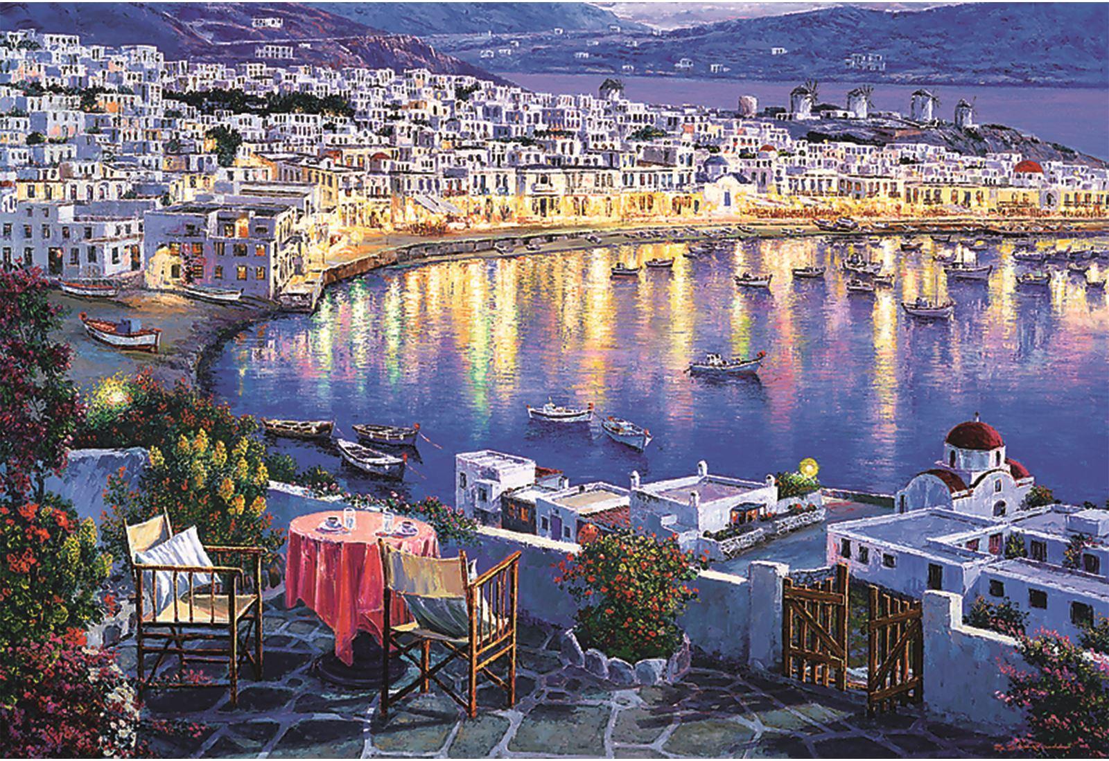 Trefl-300-500-1000-1500-2000-3000-4000-6000-Piece-Jigsaw-Puzzle-Landscapes-City thumbnail 236