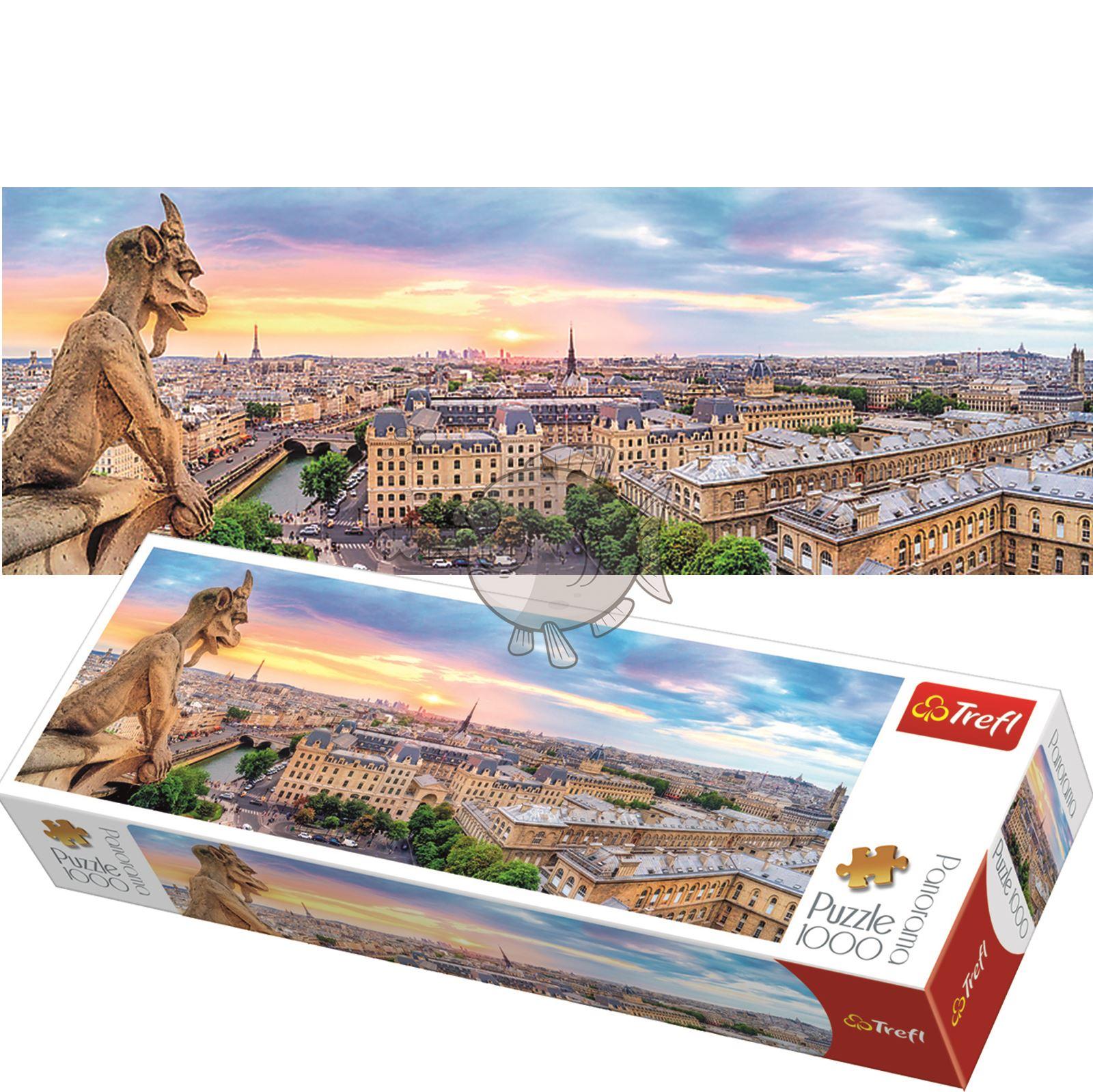 Trefl-300-500-1000-1500-2000-3000-4000-6000-Piece-Jigsaw-Puzzle-Landscapes-City thumbnail 443