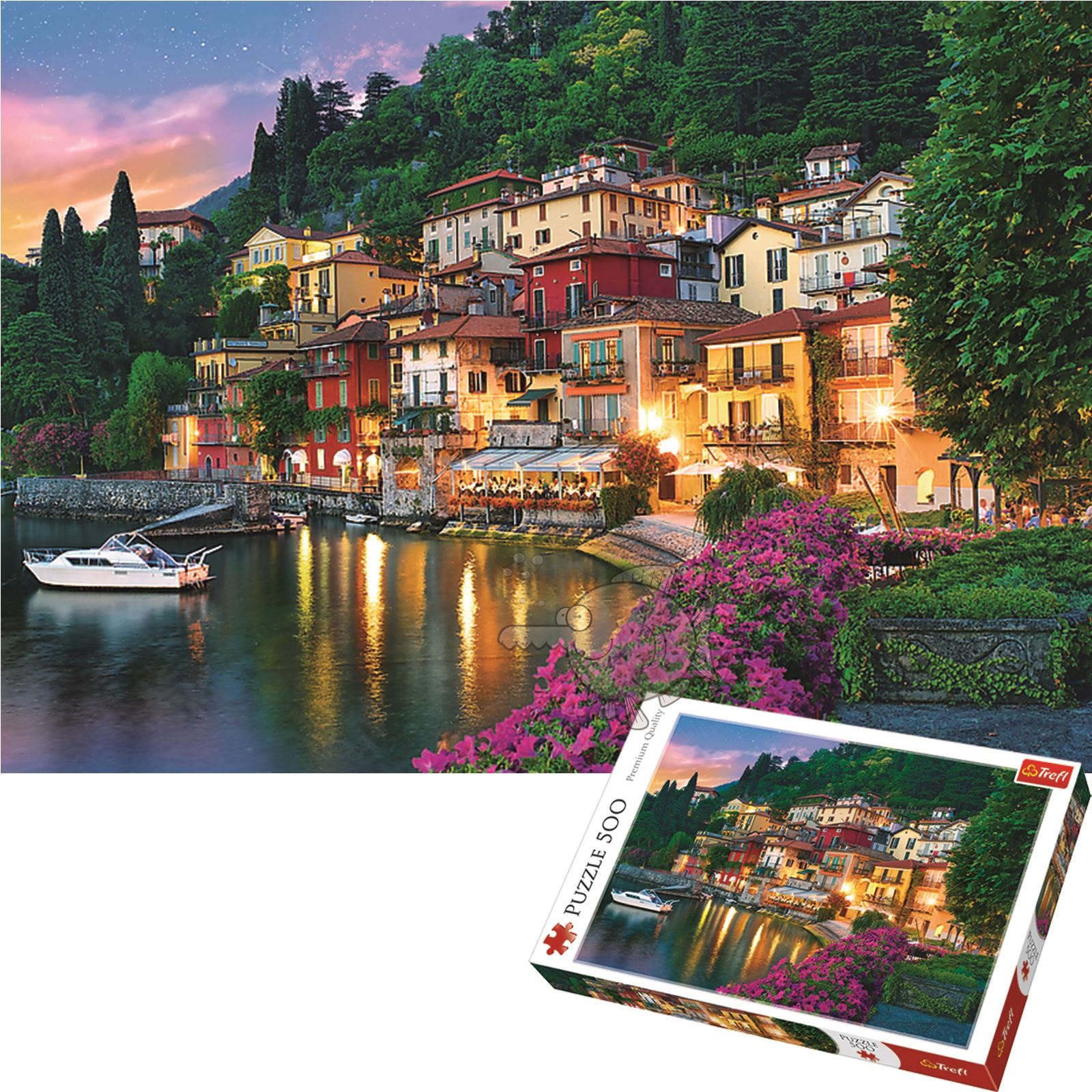 Trefl-300-500-1000-1500-2000-3000-4000-6000-Piece-Jigsaw-Puzzle-Landscapes-City thumbnail 175