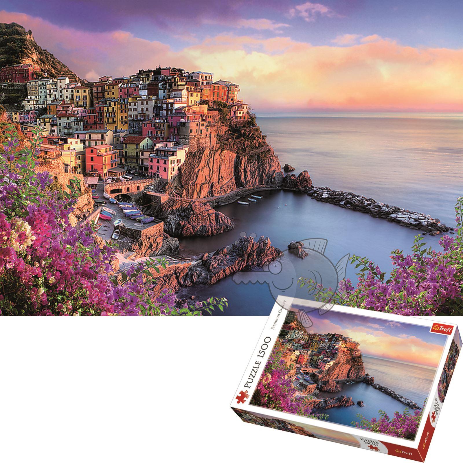 Trefl-300-500-1000-1500-2000-3000-4000-6000-Piece-Jigsaw-Puzzle-Landscapes-City thumbnail 446