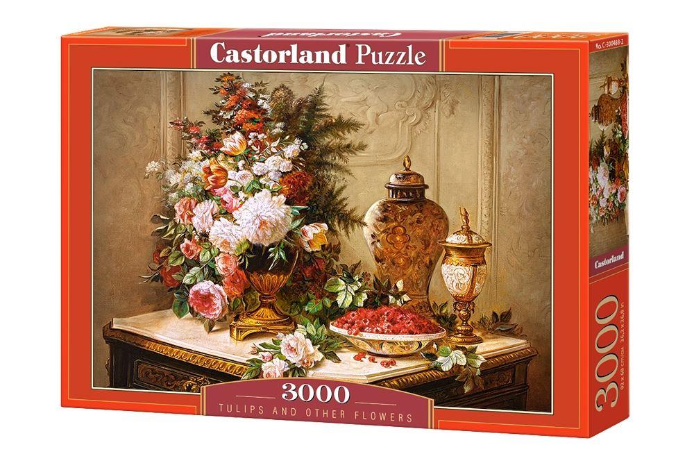 Castorland-3000-Piece-Jigsaw-Puzzle-Landscapes-Cities miniatuur 57