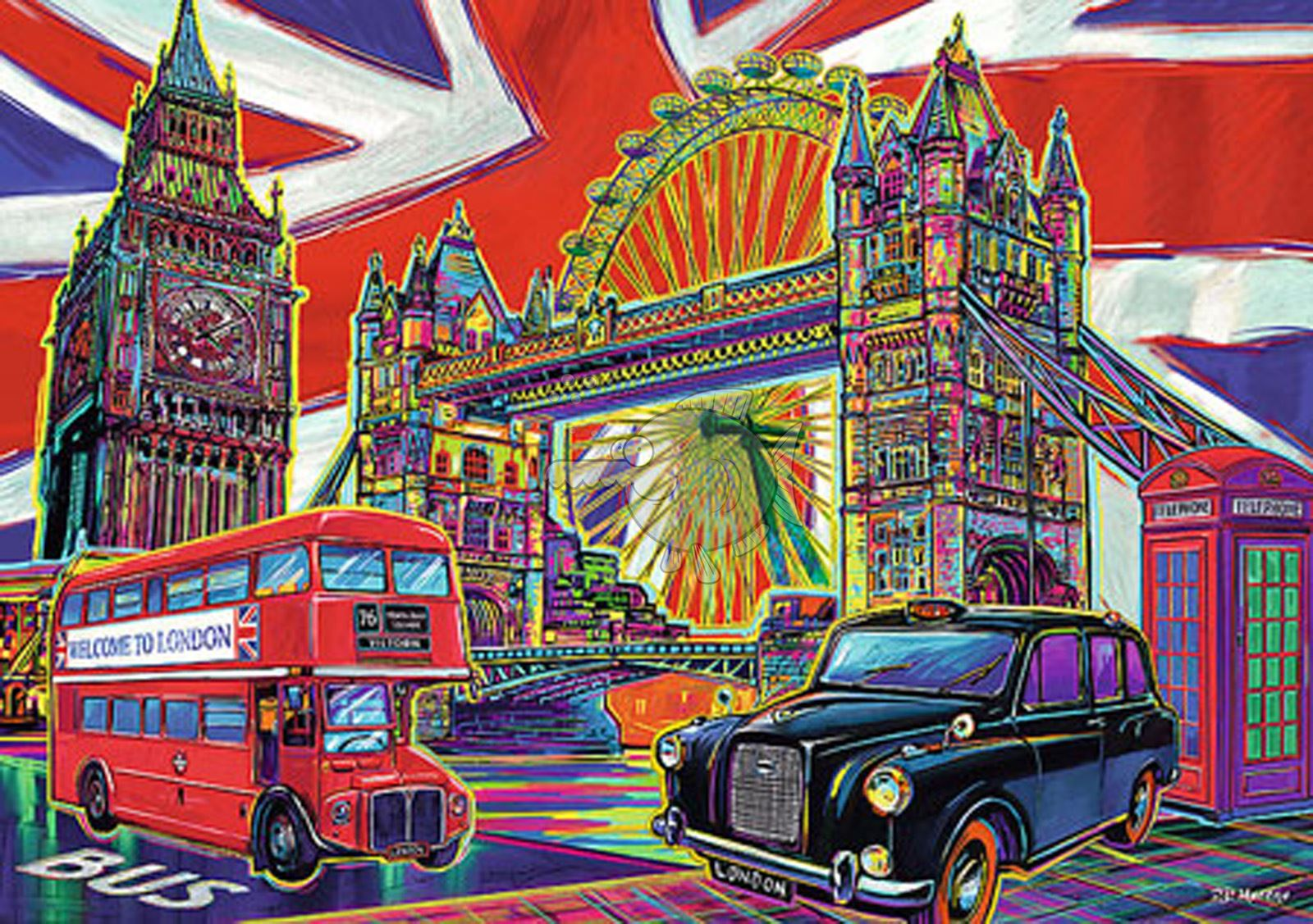 Trefl-300-500-1000-1500-2000-3000-4000-6000-Piece-Jigsaw-Puzzle-Landscapes-City thumbnail 82