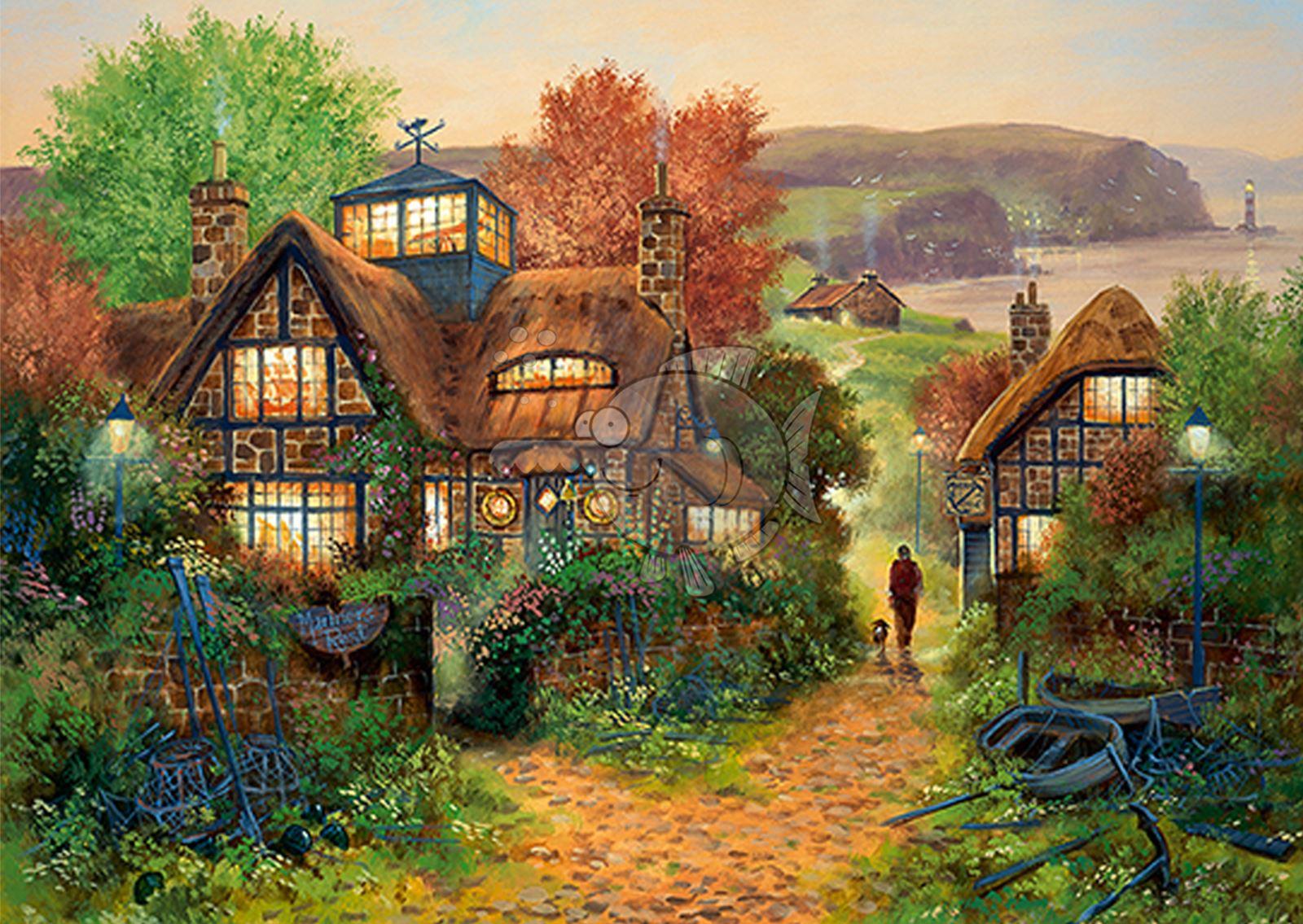 Trefl-300-500-1000-1500-2000-3000-4000-6000-Piece-Jigsaw-Puzzle-Paysages-Ville miniature 129