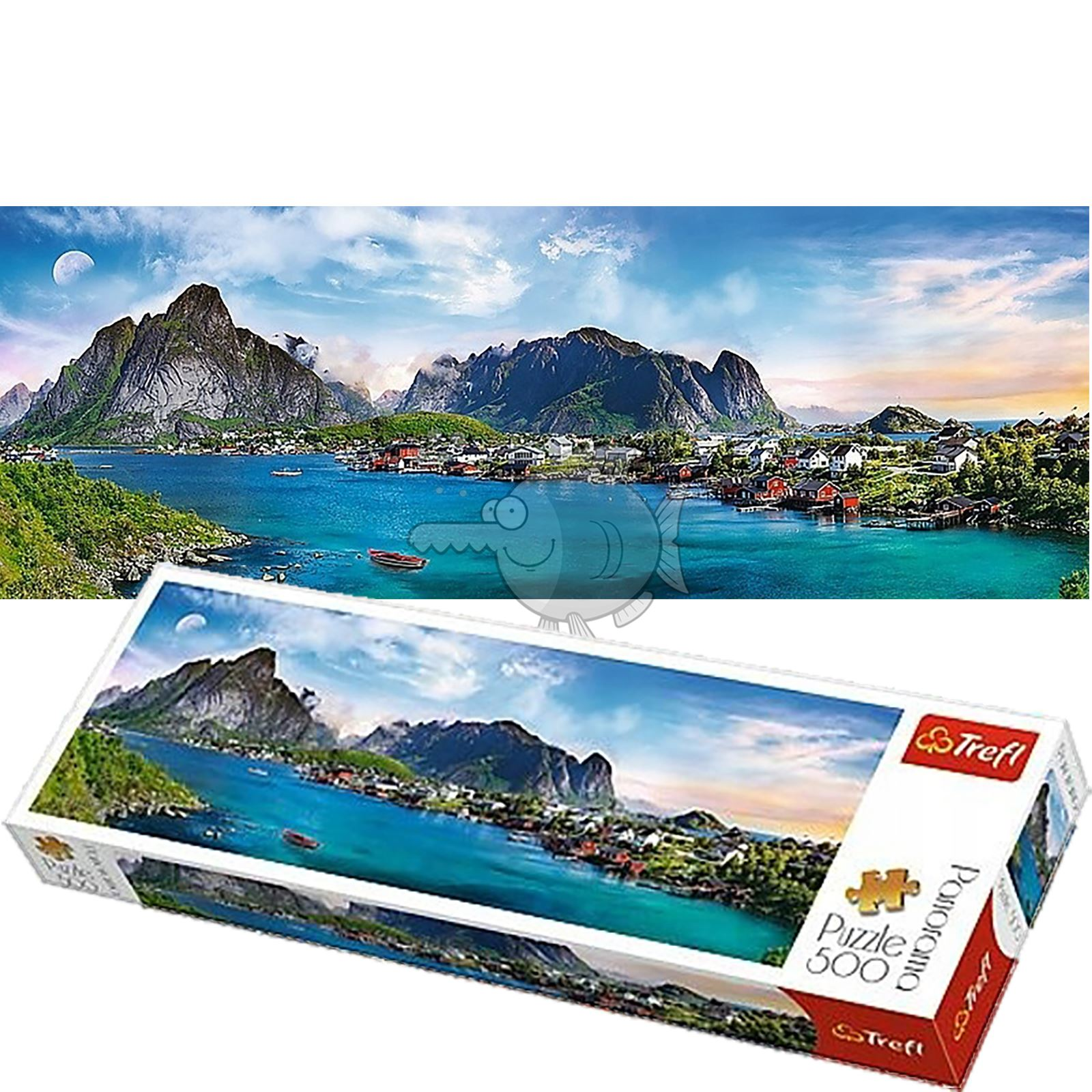 Trefl-300-500-1000-1500-2000-3000-4000-6000-Piece-Jigsaw-Puzzle-Landscapes-City thumbnail 195