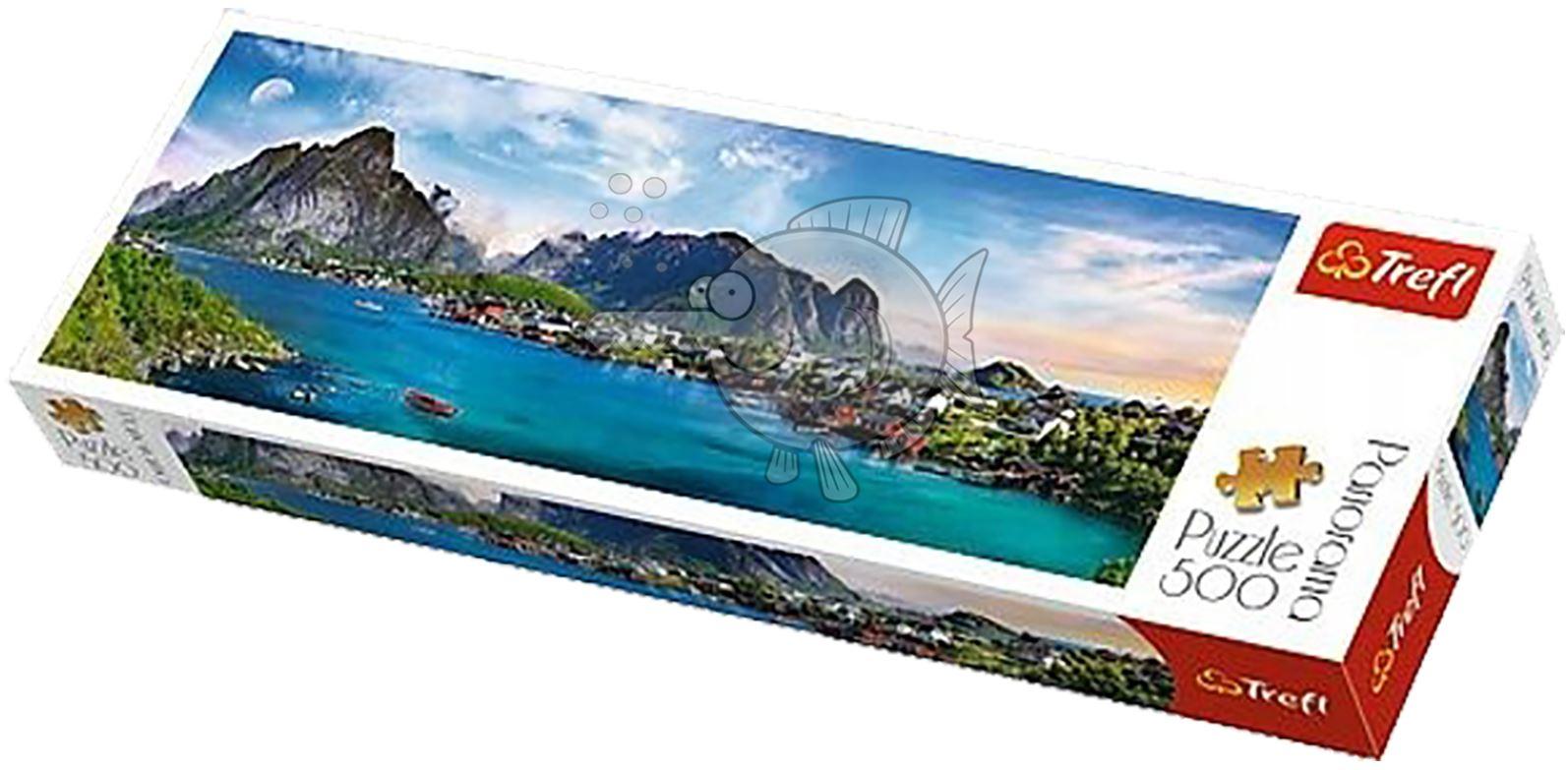 Trefl-300-500-1000-1500-2000-3000-4000-6000-Piece-Jigsaw-Puzzle-Paysages-Ville miniature 117