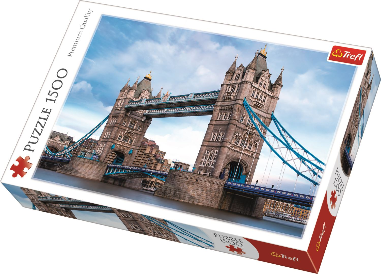 Puzzle Tower Bridge Nad Tamizą 1500 El Trefl 26140