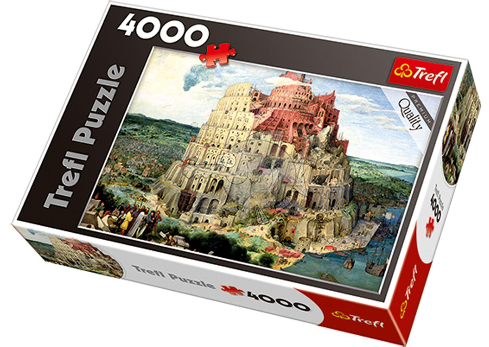 Trefl-300-500-1000-1500-2000-3000-4000-6000-Piece-Jigsaw-Puzzle-Paysages-Ville miniature 232