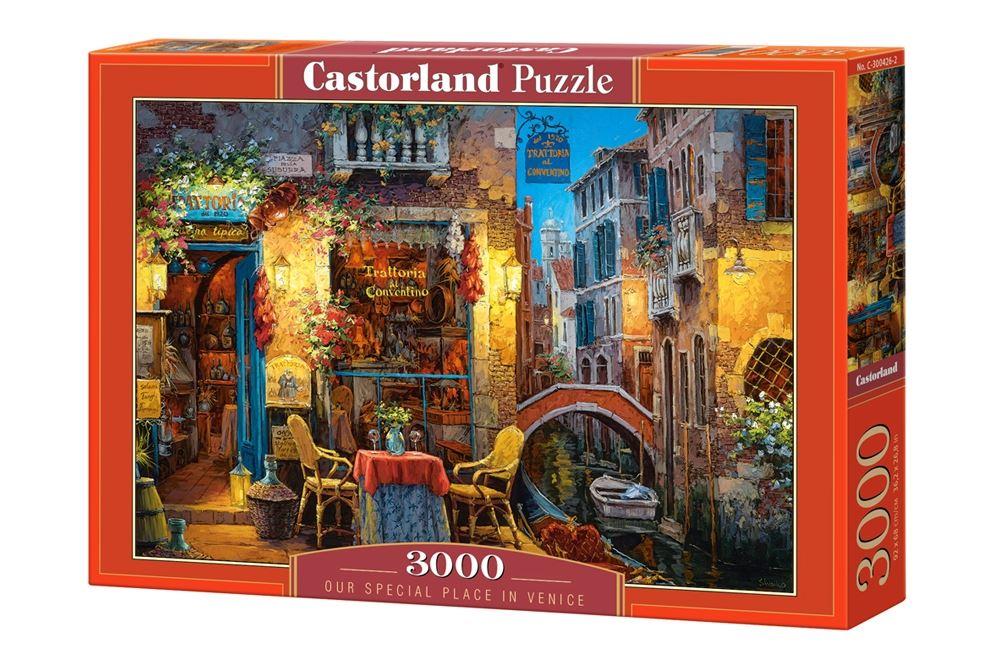 Castorland-3000-Piece-Jigsaw-Puzzle-Landscapes-Cities miniatuur 36