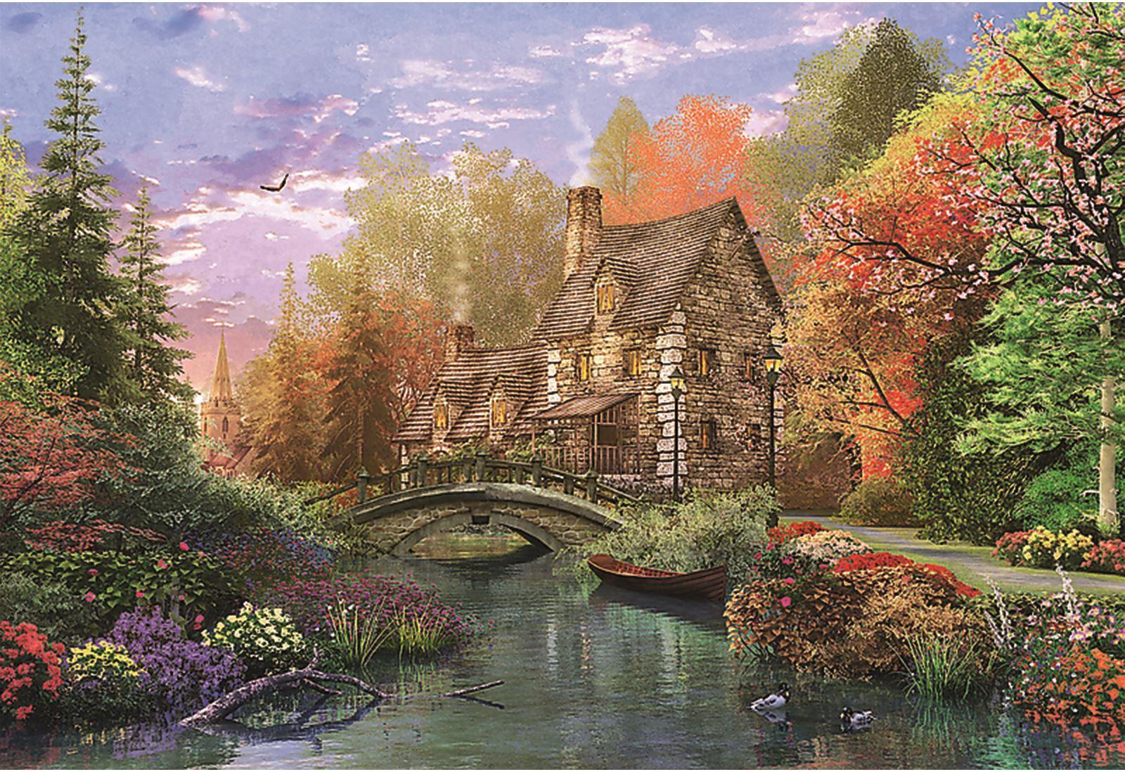 Trefl-300-500-1000-1500-2000-3000-4000-6000-Piece-Jigsaw-Puzzle-Landscapes-City thumbnail 91