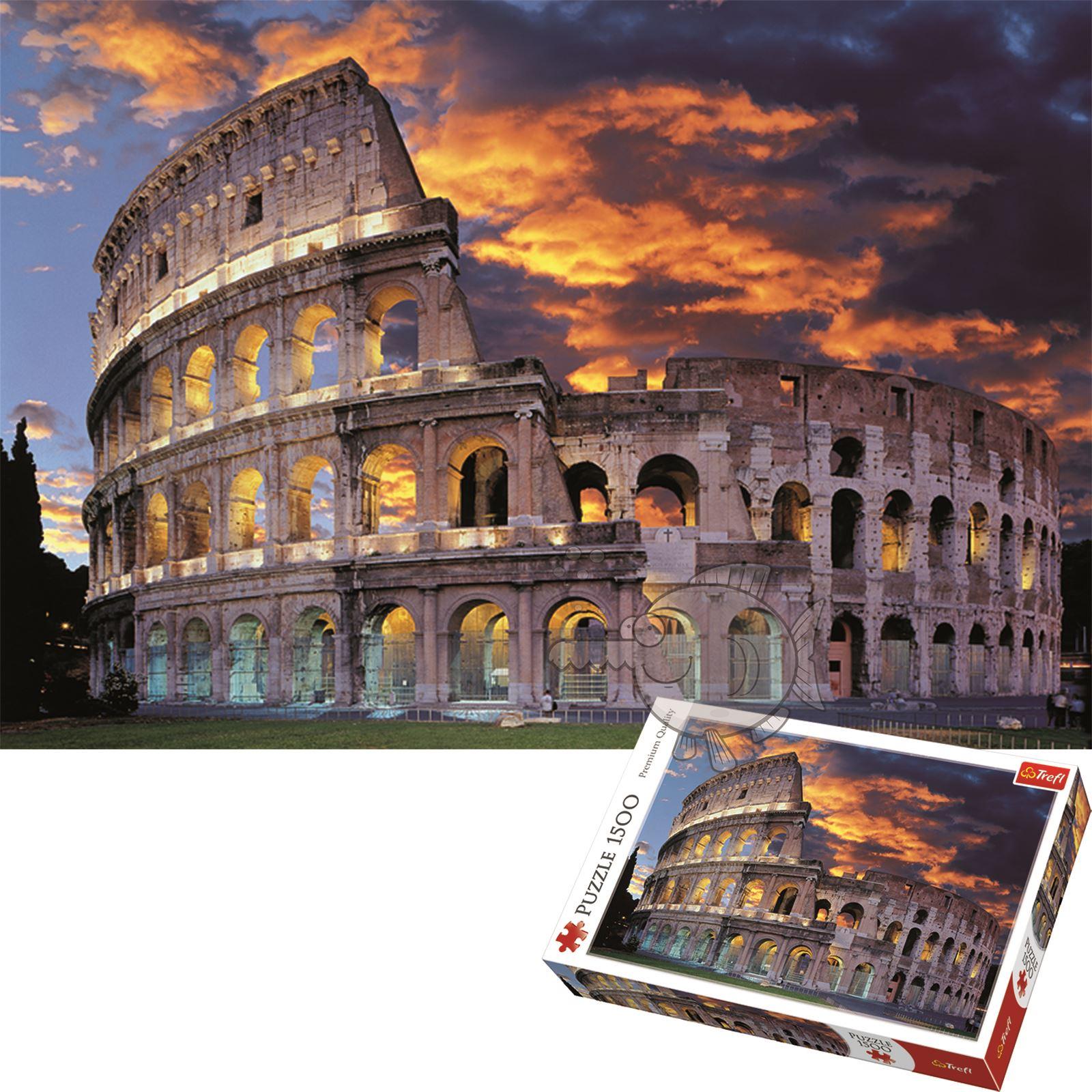 Trefl-300-500-1000-1500-2000-3000-4000-6000-Piece-Jigsaw-Puzzle-Landscapes-City thumbnail 378