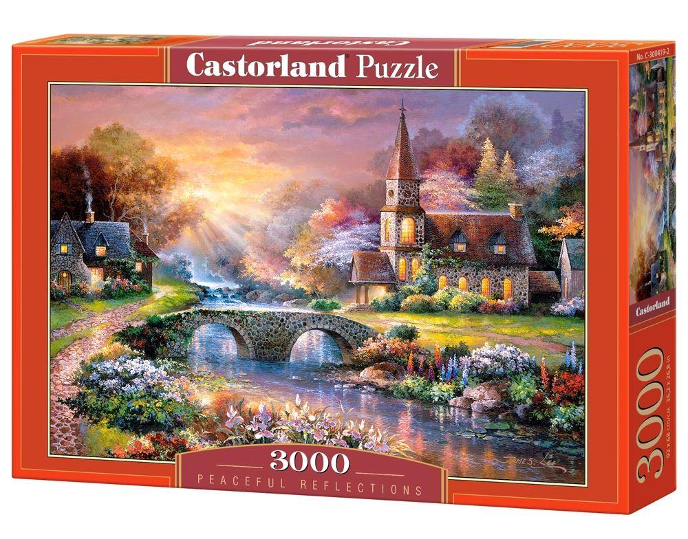 Castorland-3000-Piece-Jigsaw-Puzzle-Landscapes-Cities miniatuur 42