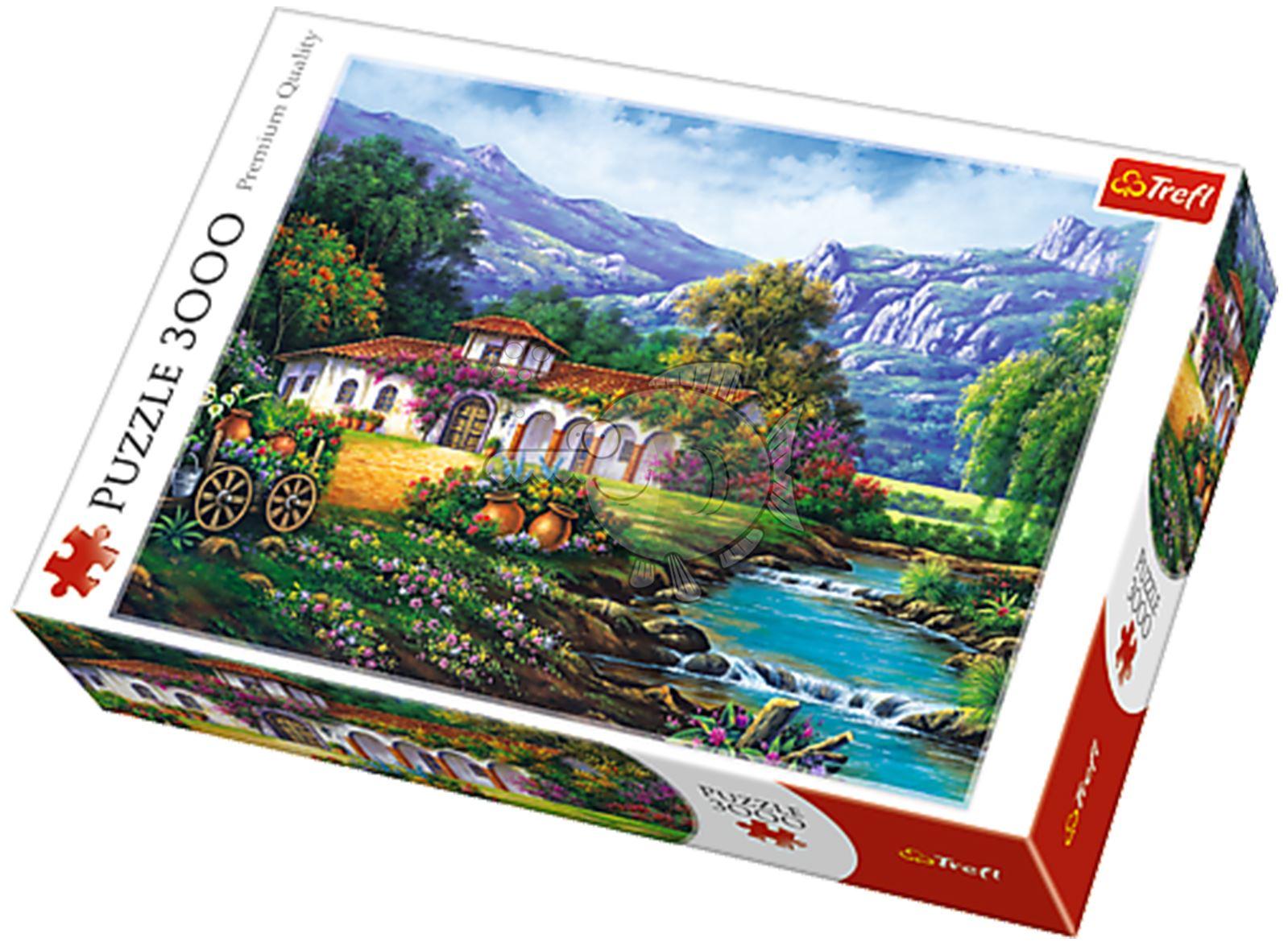 Trefl-300-500-1000-1500-2000-3000-4000-6000-Piece-Jigsaw-Puzzle-Landscapes-City thumbnail 154