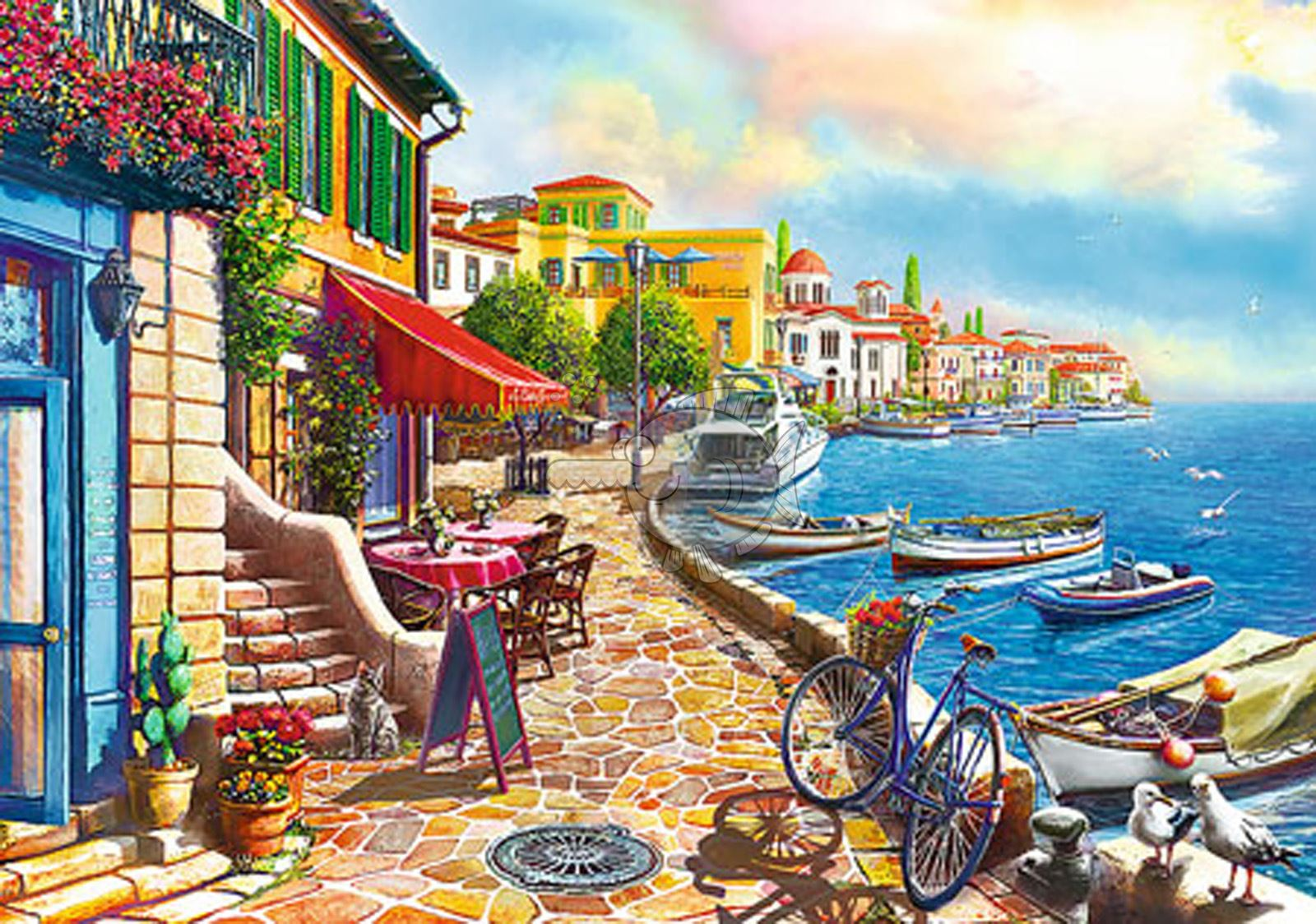 Trefl-300-500-1000-1500-2000-3000-4000-6000-Piece-Jigsaw-Puzzle-Landscapes-City thumbnail 358