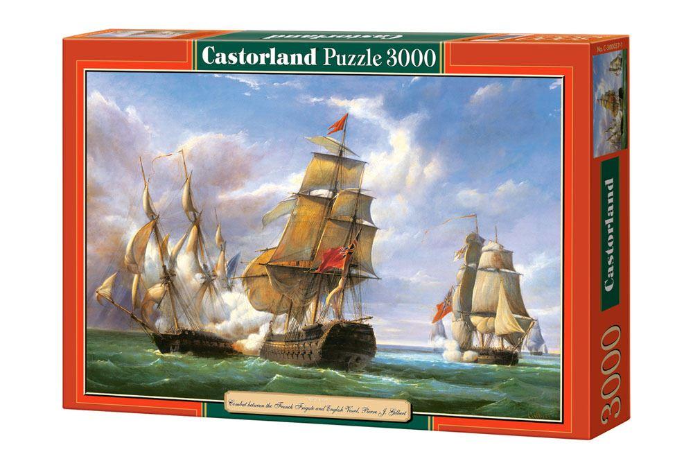 Castorland-3000-Piece-Jigsaw-Puzzle-Landscapes-Cities miniatuur 6