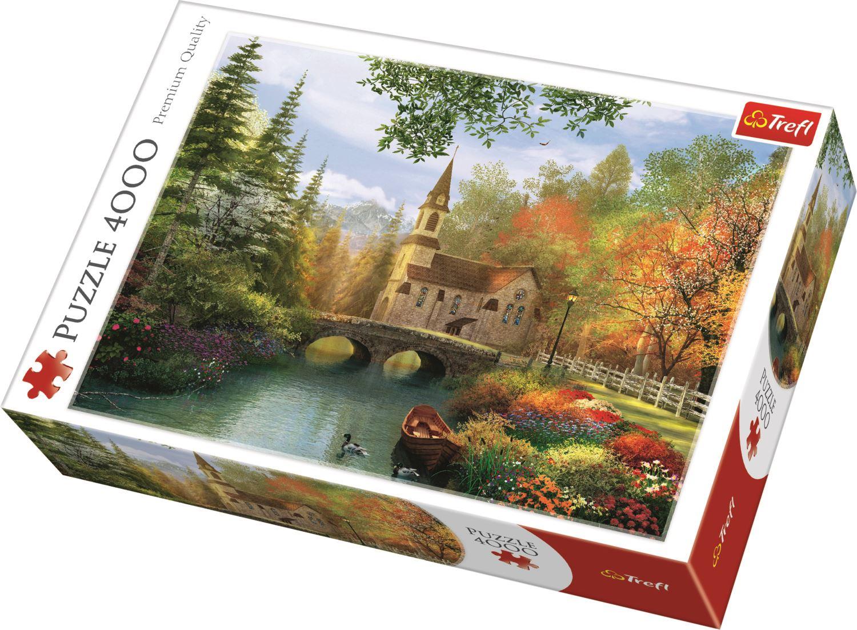 Trefl-300-500-1000-1500-2000-3000-4000-6000-Piece-Jigsaw-Puzzle-Paysages-Ville miniature 17