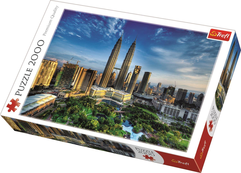 Trefl-300-500-1000-1500-2000-3000-4000-6000-Piece-Jigsaw-Puzzle-Landscapes-City thumbnail 263