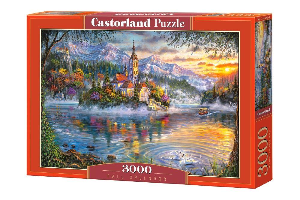 Castorland-3000-Piece-Jigsaw-Puzzle-Landscapes-Cities miniatuur 12