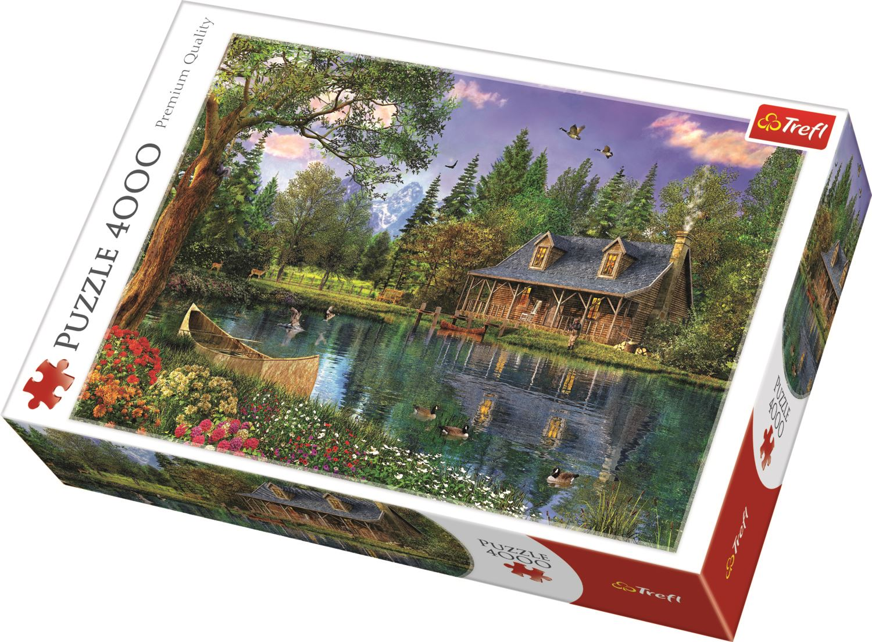 Trefl-300-500-1000-1500-2000-3000-4000-6000-Piece-Jigsaw-Puzzle-Paysages-Ville miniature 11