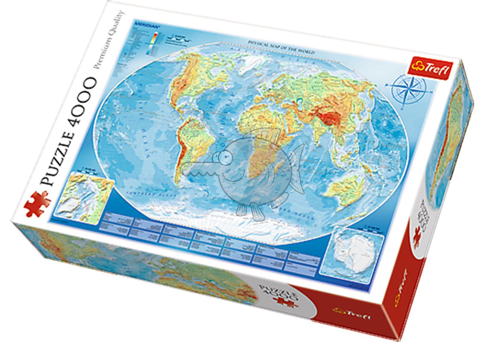 Trefl-300-500-1000-1500-2000-3000-4000-6000-Piece-Jigsaw-Puzzle-Paysages-Ville miniature 156