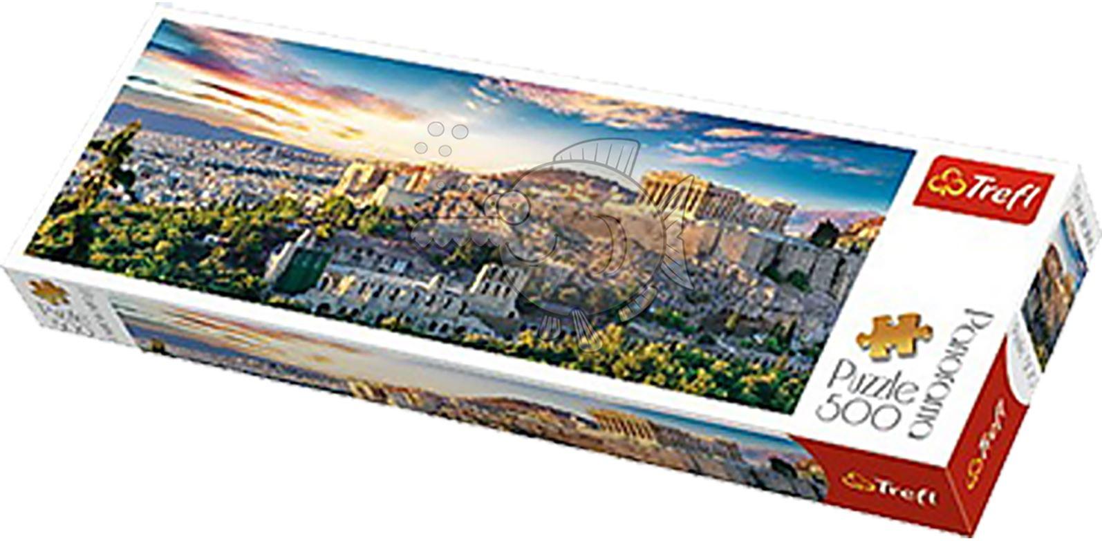 Trefl-300-500-1000-1500-2000-3000-4000-6000-Piece-Jigsaw-Puzzle-Paysages-Ville miniature 7