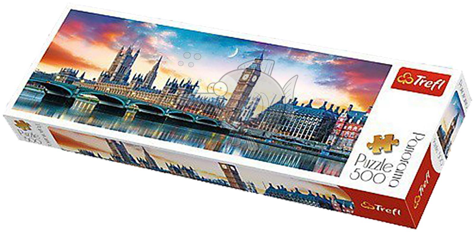 Trefl-300-500-1000-1500-2000-3000-4000-6000-Piece-Jigsaw-Puzzle-Paysages-Ville miniature 26