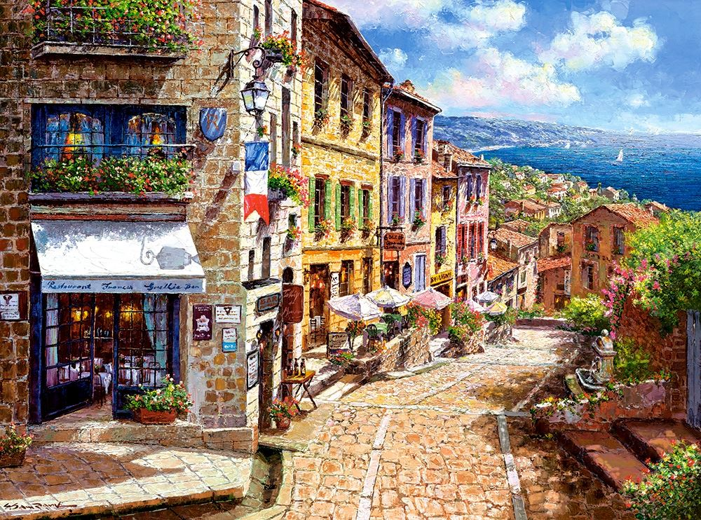Castorland-3000-Piece-Jigsaw-Puzzle-Landscapes-Cities miniatuur 4