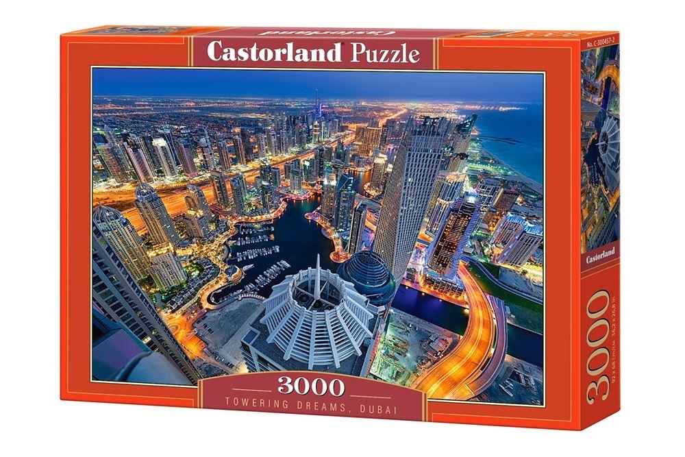 Castorland-3000-Piece-Jigsaw-Puzzle-Landscapes-Cities miniatuur 51