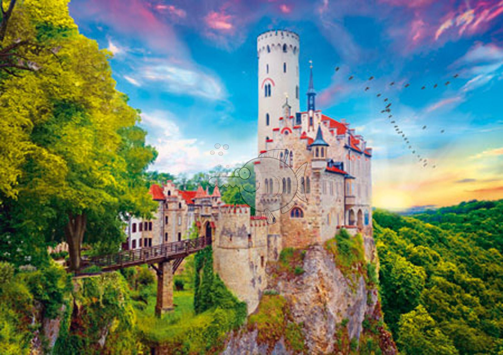 Trefl-300-500-1000-1500-2000-3000-4000-6000-Piece-Jigsaw-Puzzle-Landscapes-City thumbnail 182