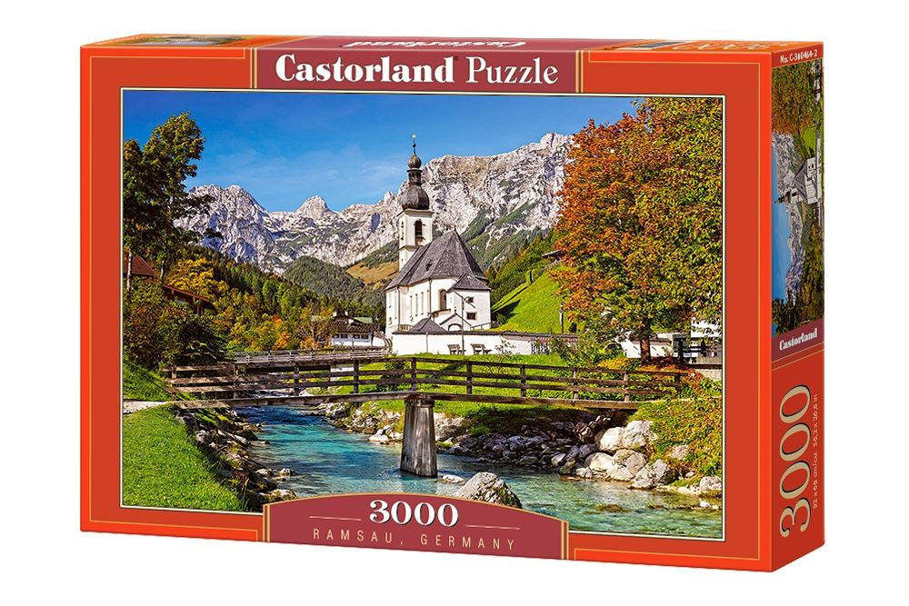Castorland-3000-Piece-Jigsaw-Puzzle-Landscapes-Cities miniatuur 45