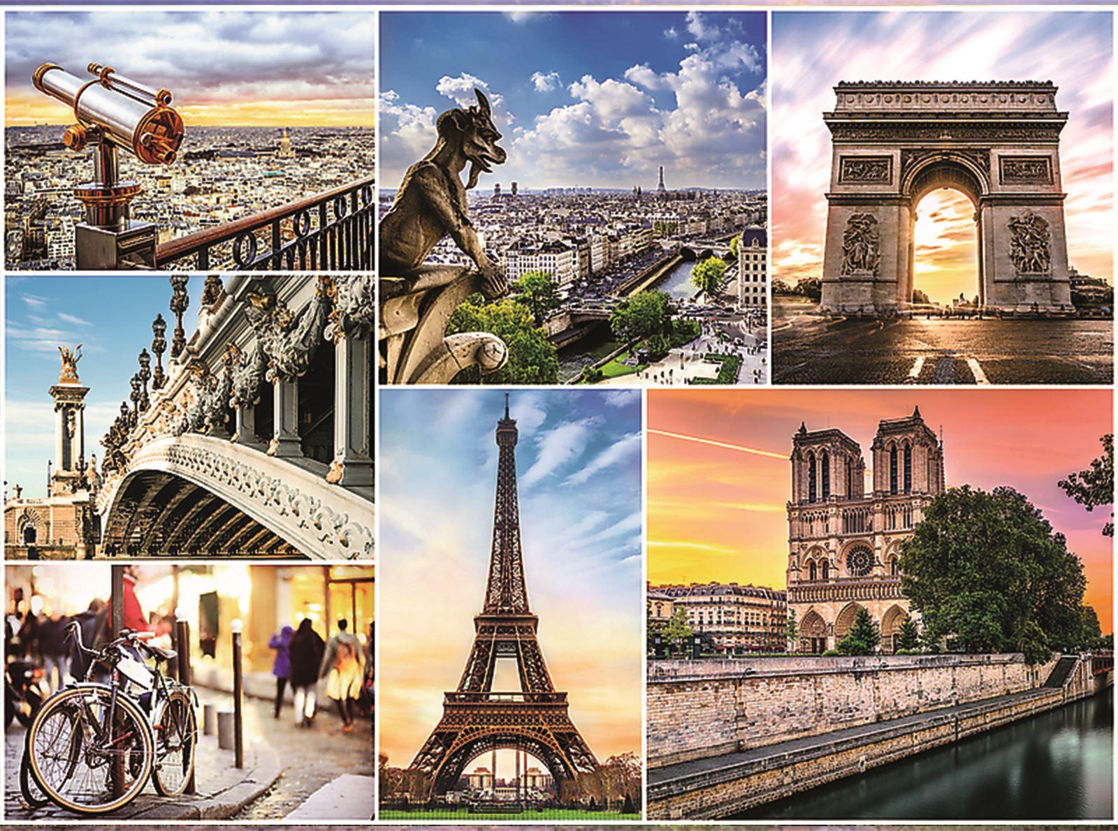 Trefl-300-500-1000-1500-2000-3000-4000-6000-Piece-Jigsaw-Puzzle-Landscapes-City thumbnail 207