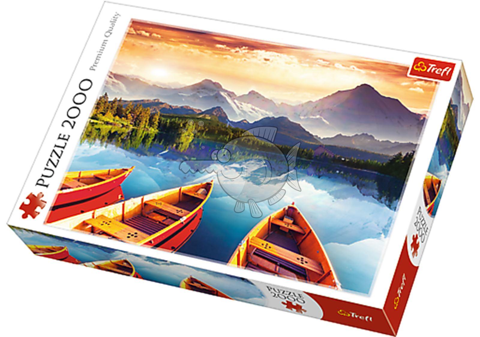 Trefl-300-500-1000-1500-2000-3000-4000-6000-Piece-Jigsaw-Puzzle-Landscapes-City thumbnail 93