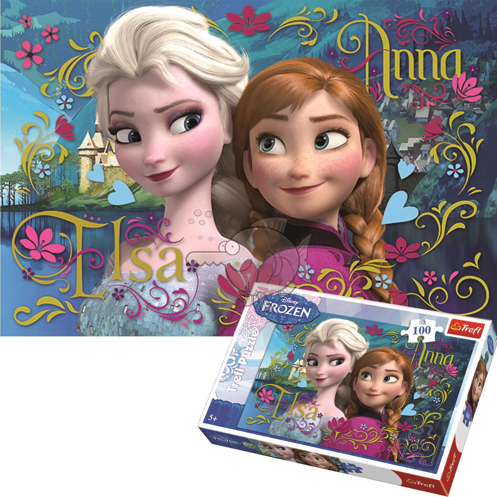 Trefl 60 Pièce Enfants Disney Frozen 2 Enchanted World of Anna Jigsaw Puzzle