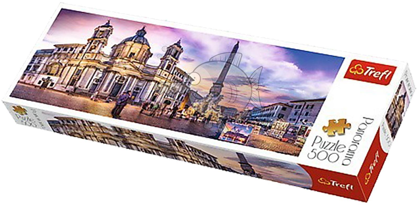 Trefl-300-500-1000-1500-2000-3000-4000-6000-Piece-Jigsaw-Puzzle-Paysages-Ville miniature 159