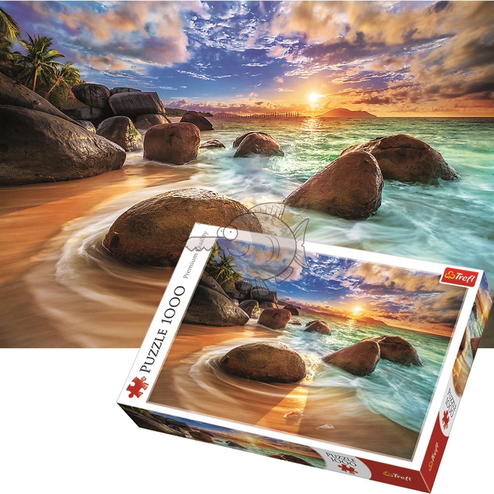 Trefl-300-500-1000-1500-2000-3000-4000-6000-Piece-Jigsaw-Puzzle-Landscapes-City thumbnail 306