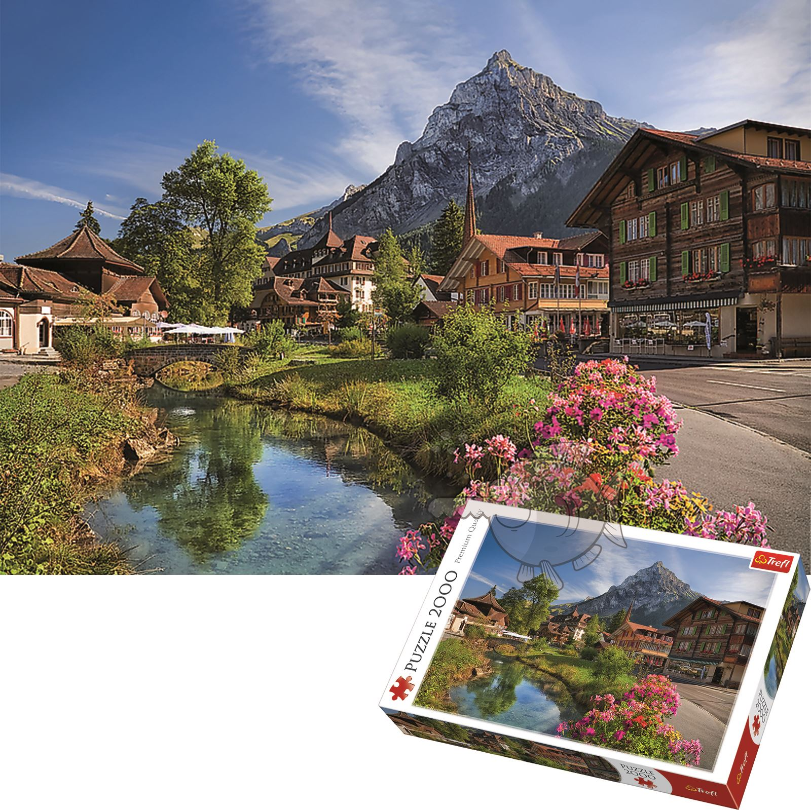Trefl-300-500-1000-1500-2000-3000-4000-6000-Piece-Jigsaw-Puzzle-Landscapes-City thumbnail 17