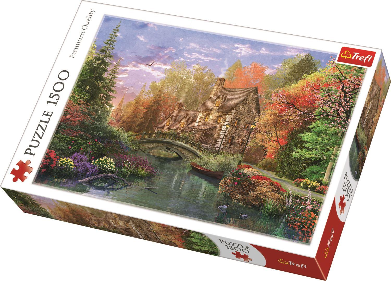 Trefl-300-500-1000-1500-2000-3000-4000-6000-Piece-Jigsaw-Puzzle-Landscapes-City thumbnail 90