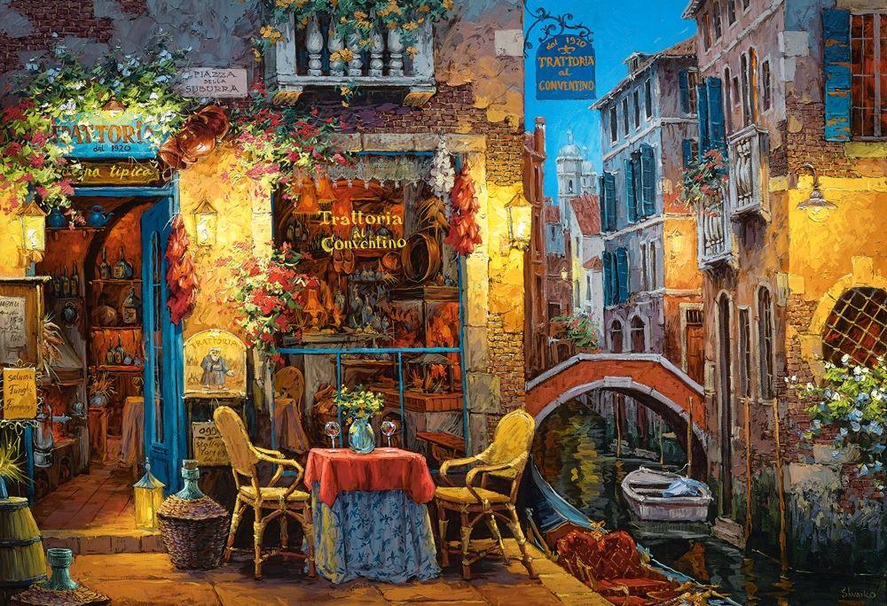 Castorland-3000-Piece-Jigsaw-Puzzle-Landscapes-Cities miniatuur 37
