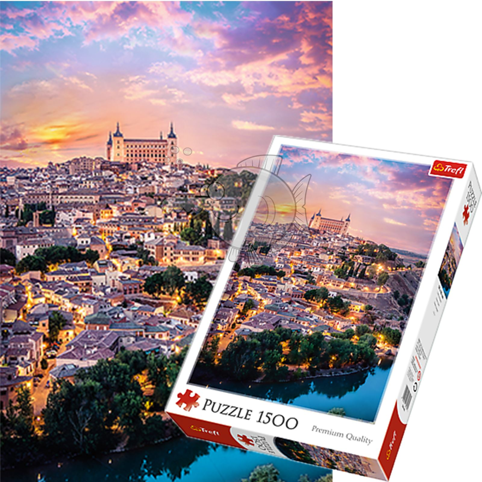 Trefl-300-500-1000-1500-2000-3000-4000-6000-Piece-Jigsaw-Puzzle-Landscapes-City thumbnail 422