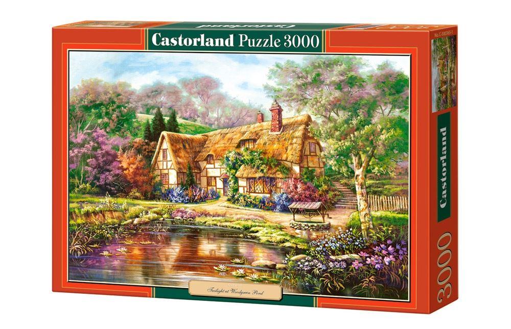 Castorland-3000-Piece-Jigsaw-Puzzle-Landscapes-Cities miniatuur 60