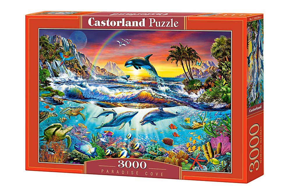 Castorland-3000-Piece-Jigsaw-Puzzle-Landscapes-Cities miniatuur 39