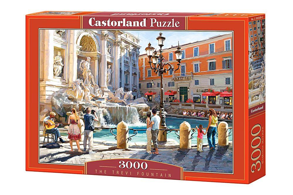 Castorland-3000-Piece-Jigsaw-Puzzle-Landscapes-Cities miniatuur 48