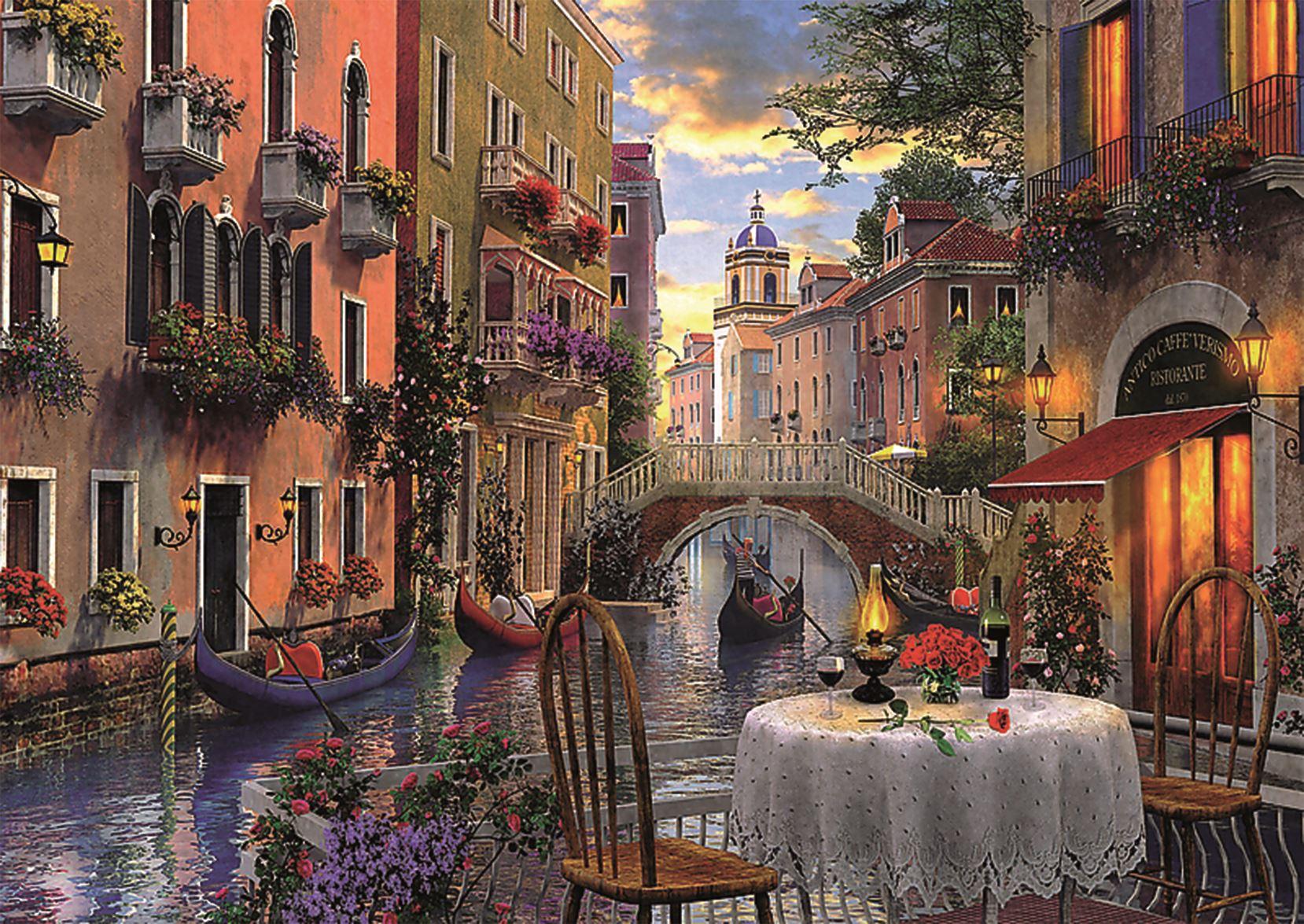 Trefl-300-500-1000-1500-2000-3000-4000-6000-Piece-Jigsaw-Puzzle-Paysages-Ville miniature 175