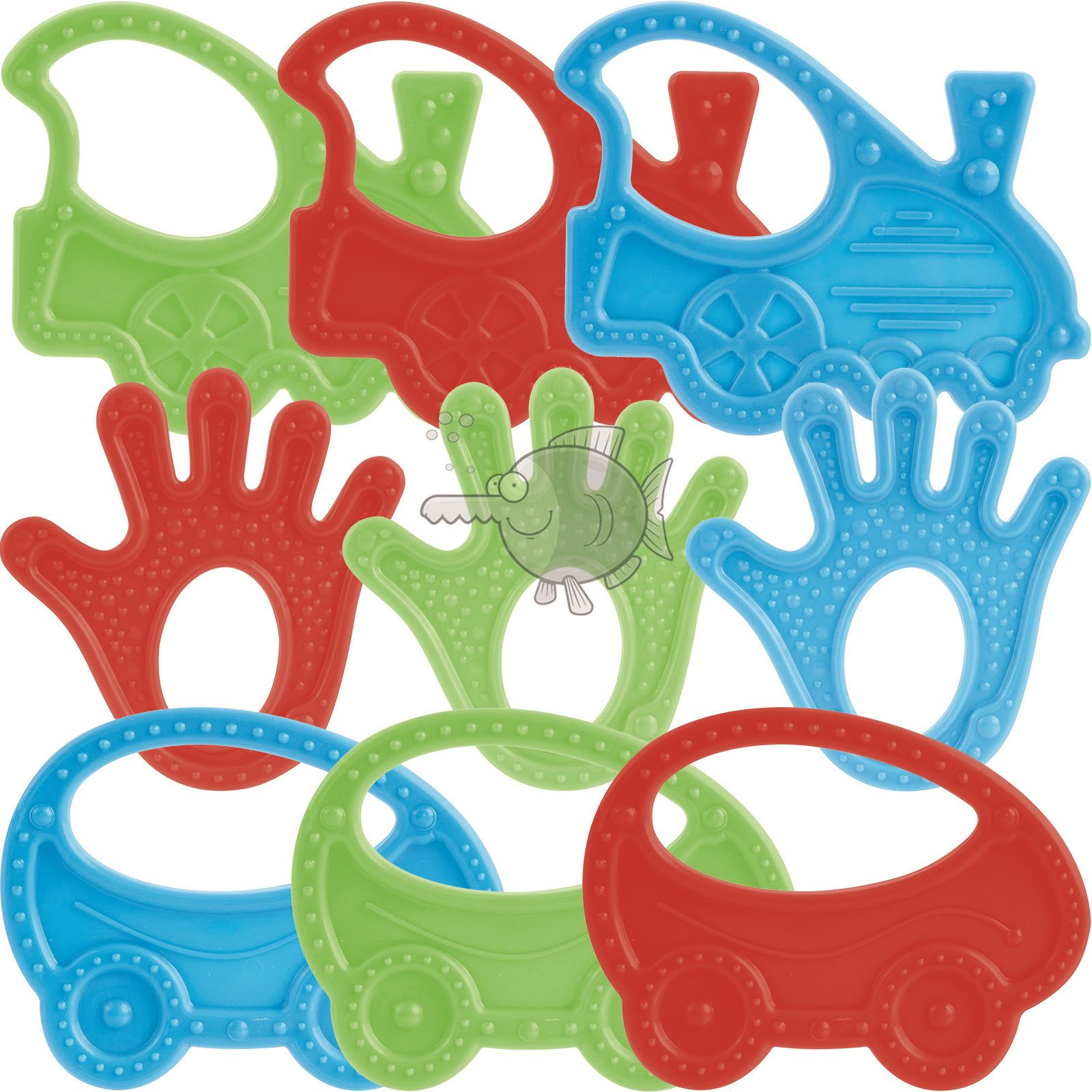 NEW Baby Silicone Teether Soothing Toy Teething Toy Safe BPA Free 0m+