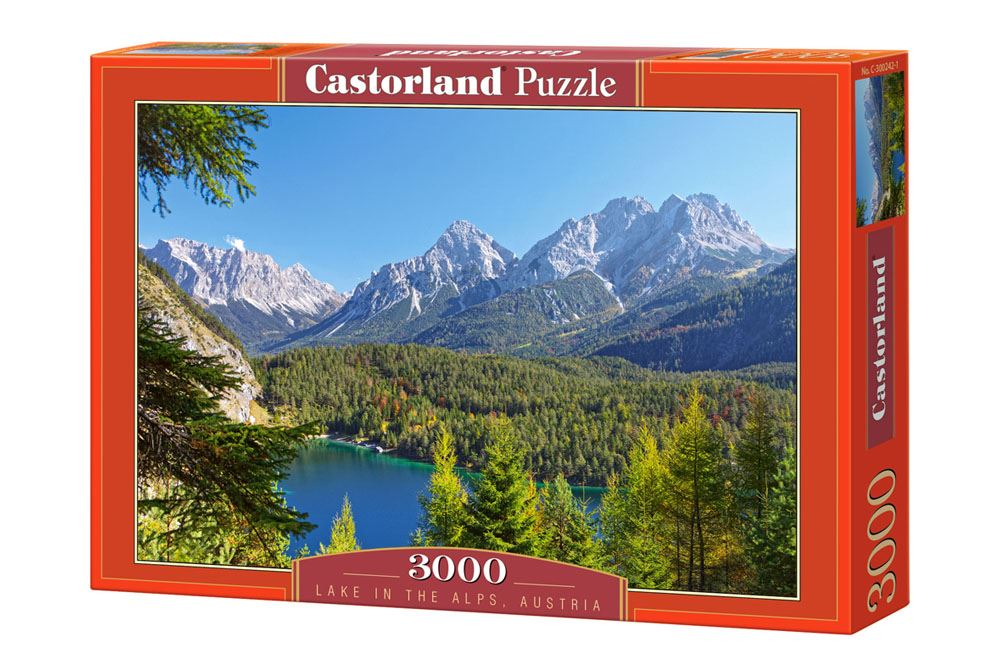 Castorland-3000-Piece-Jigsaw-Puzzle-Landscapes-Cities miniatuur 54