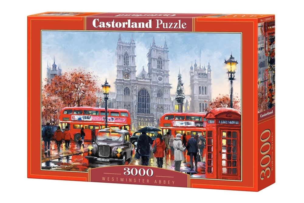 Castorland-3000-Piece-Jigsaw-Puzzle-Landscapes-Cities miniatuur 63