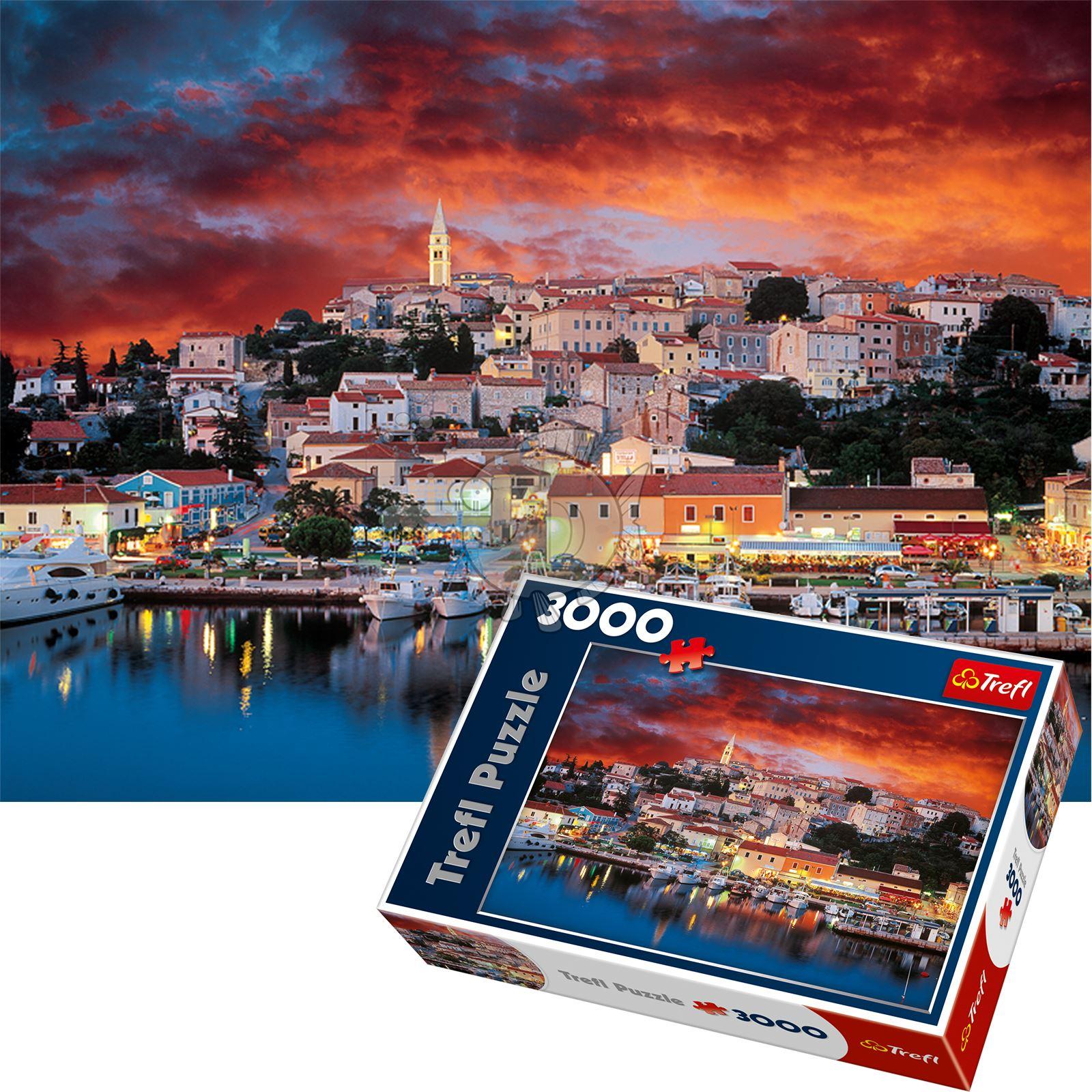 Trefl-300-500-1000-1500-2000-3000-4000-6000-Piece-Jigsaw-Puzzle-Landscapes-City thumbnail 450