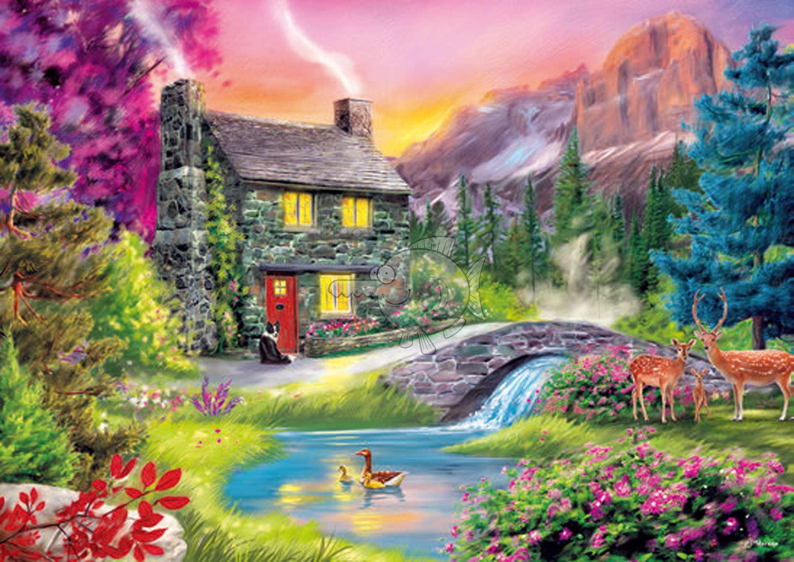 Trefl-300-500-1000-1500-2000-3000-4000-6000-Piece-Jigsaw-Puzzle-Landscapes-City thumbnail 233