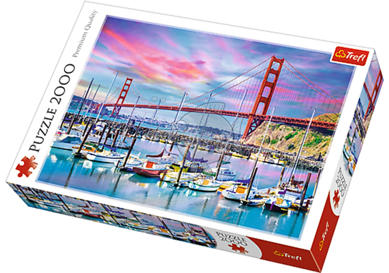 Trefl-300-500-1000-1500-2000-3000-4000-6000-Piece-Jigsaw-Puzzle-Landscapes-City thumbnail 144